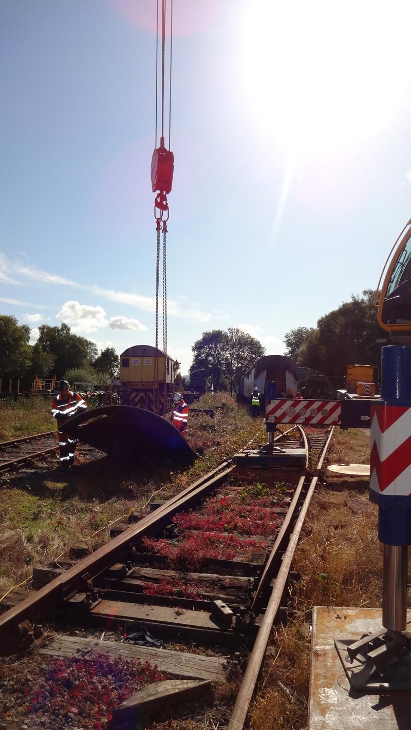 50030 Power Unit Lift, Peak Rail, Rowsley 290920 (126)