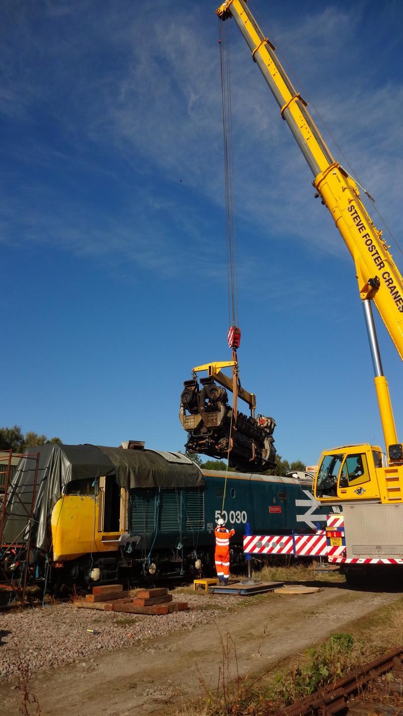 50030 Power Unit Lift, Peak Rail, Rowsley 290920 (84)