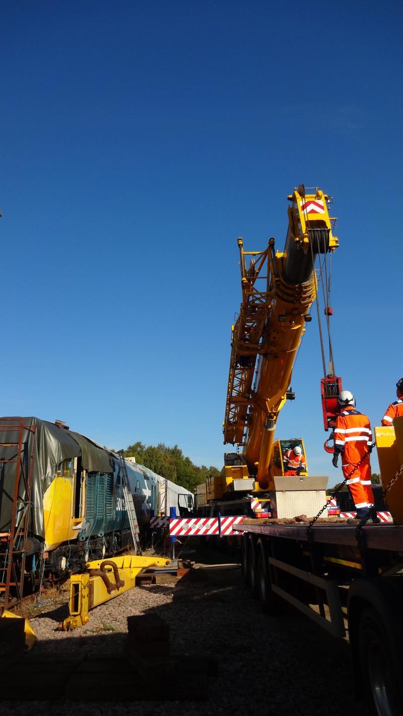 50030 Power Unit Lift, Peak Rail, Rowsley 290920 (46)