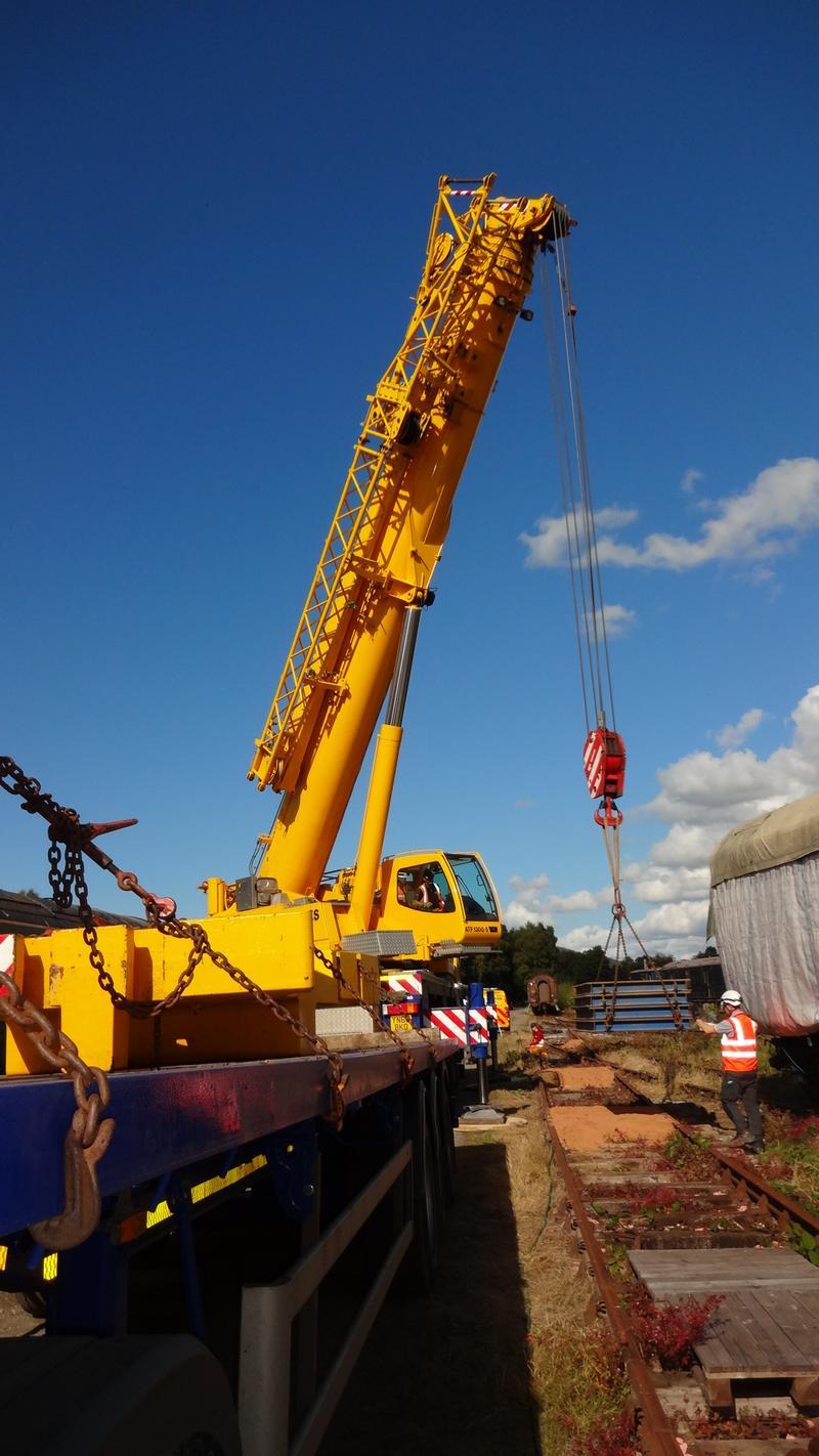50030 Power Unit Lift, Peak Rail, Rowsley 290920 (132)