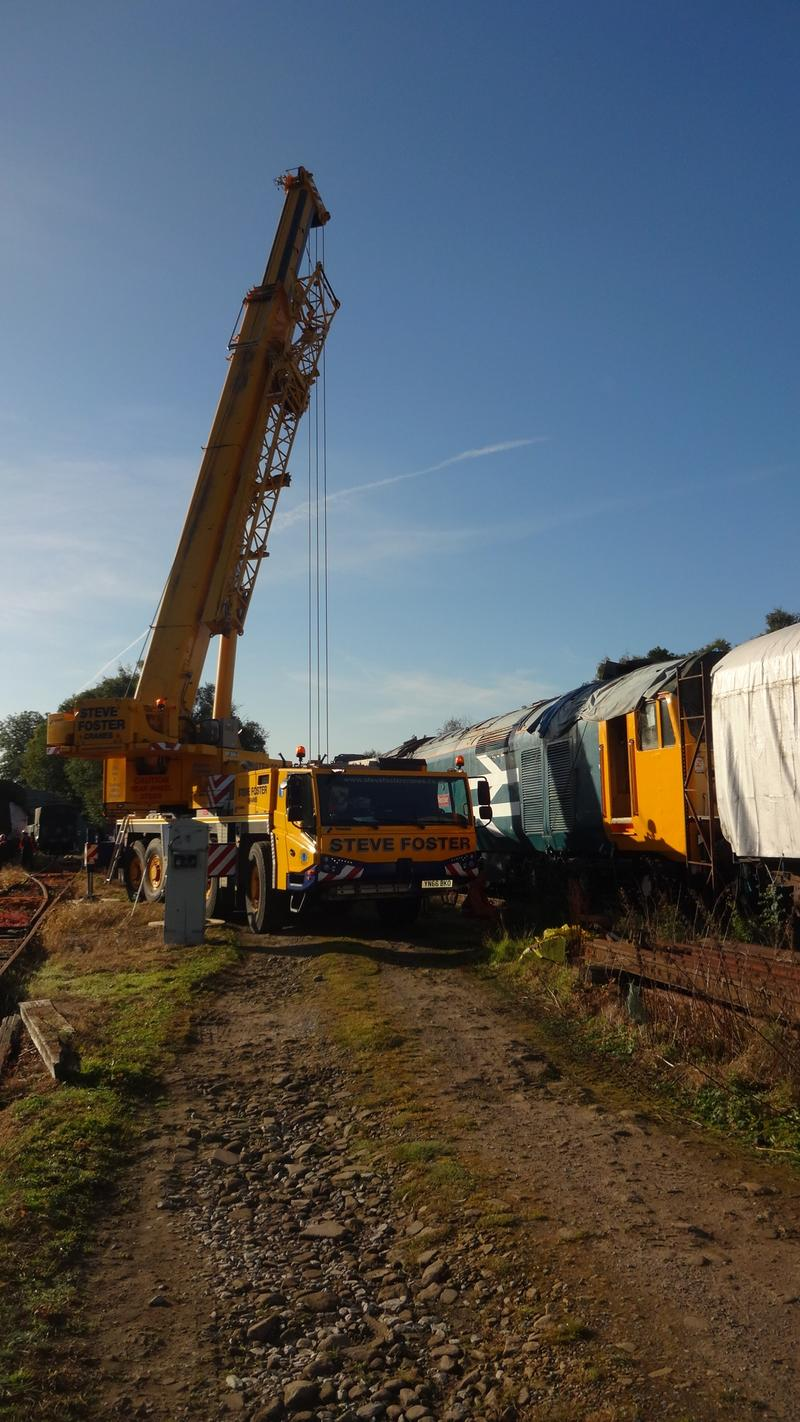 50030 Power Unit Lift, Peak Rail, Rowsley 290920 (41)