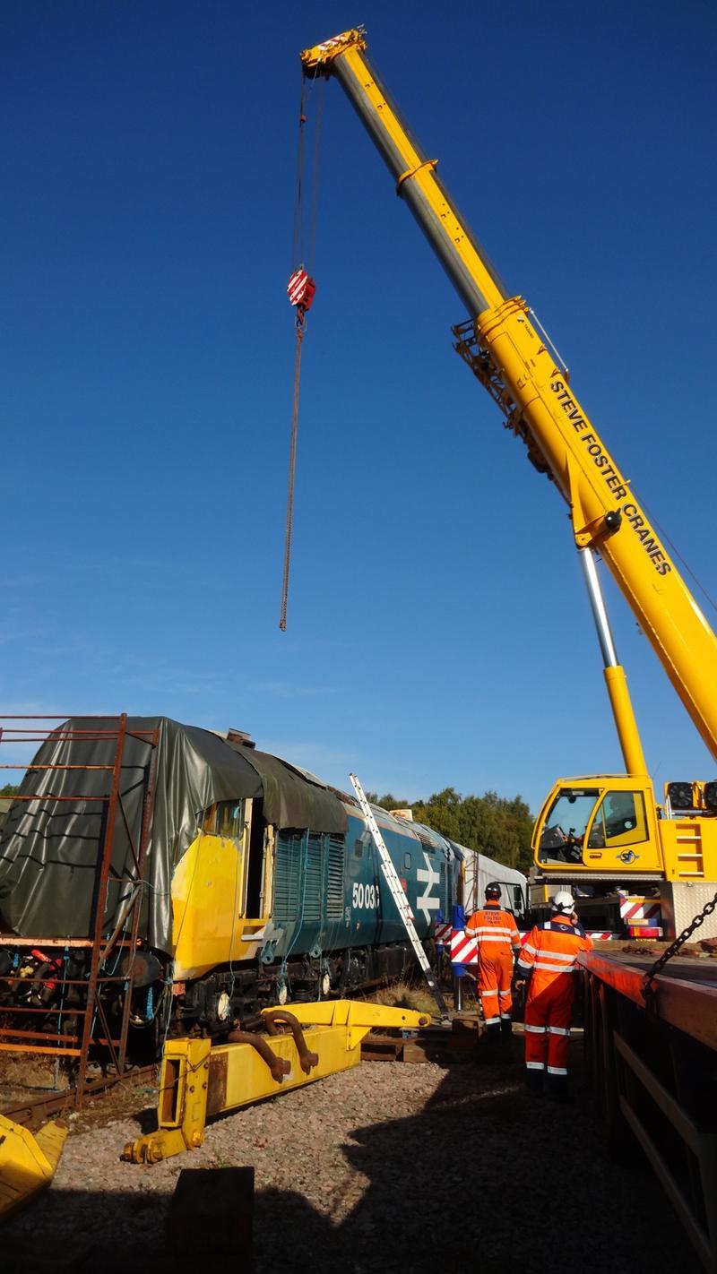 50030 Power Unit Lift, Peak Rail, Rowsley 290920 (47)