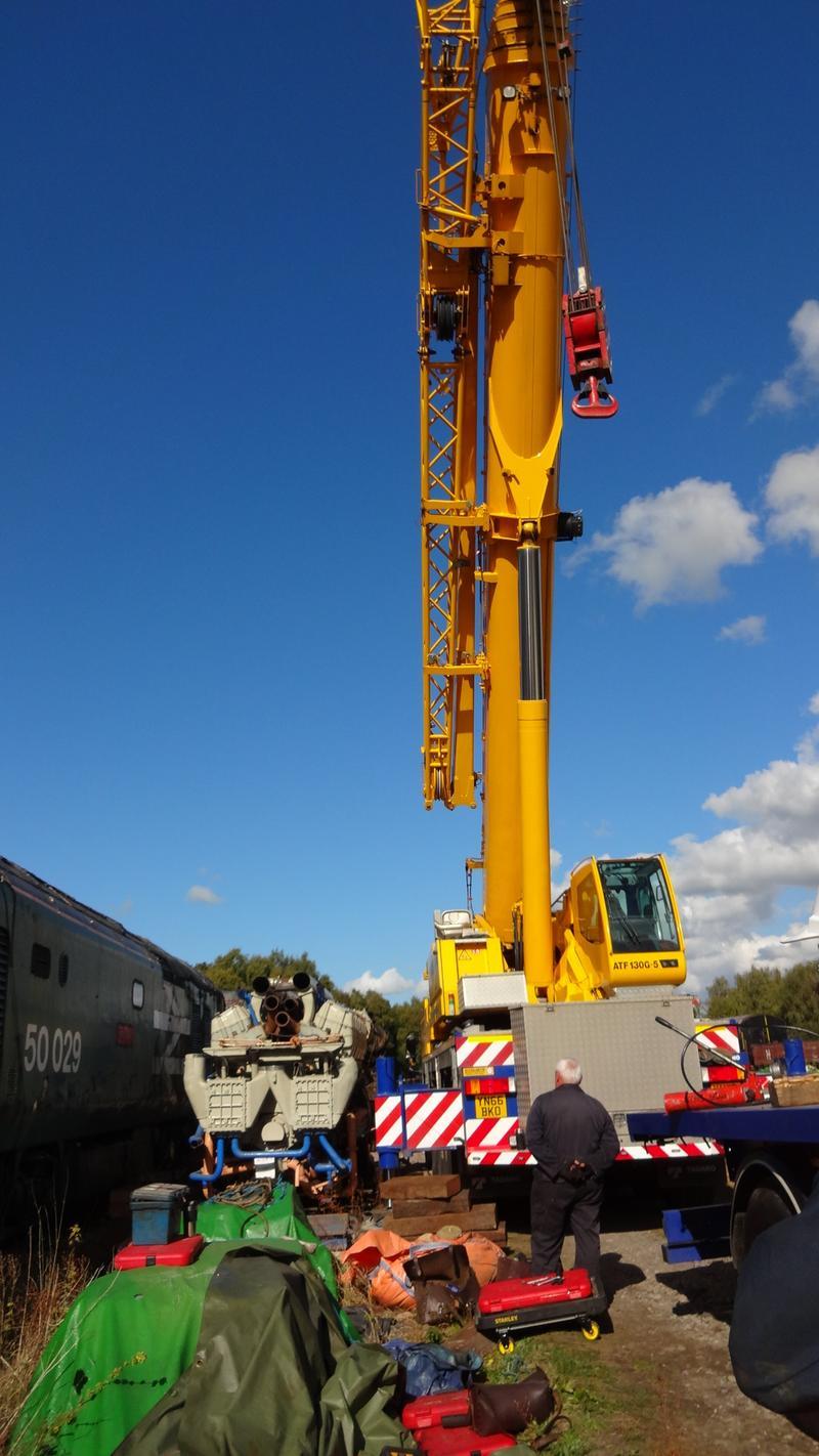 50030 Power Unit Lift, Peak Rail, Rowsley 290920 (133)