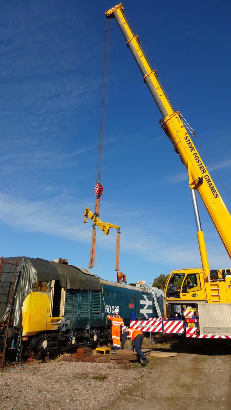 50030 Power Unit Lift, Peak Rail, Rowsley 290920 (67)