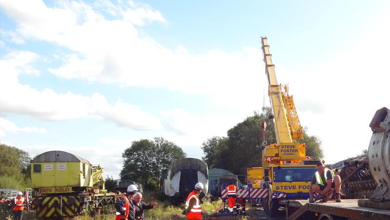 50030 Power Unit Lift, Peak Rail, Rowsley 290920 (177)