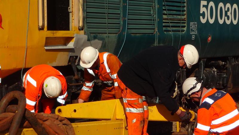 50030 Power Unit Lift, Peak Rail, Rowsley 290920 (61)