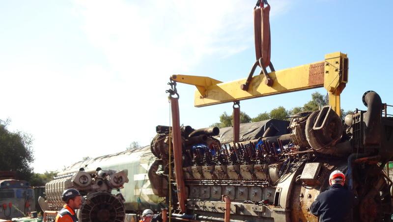 50030 Power Unit Lift, Peak Rail, Rowsley 290920 (94)