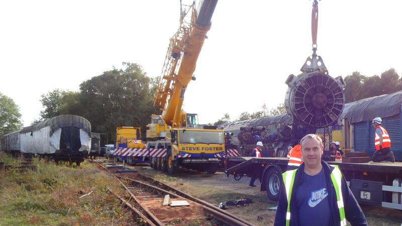 50030 Power Unit Lift, Peak Rail, Rowsley 290920 (170)