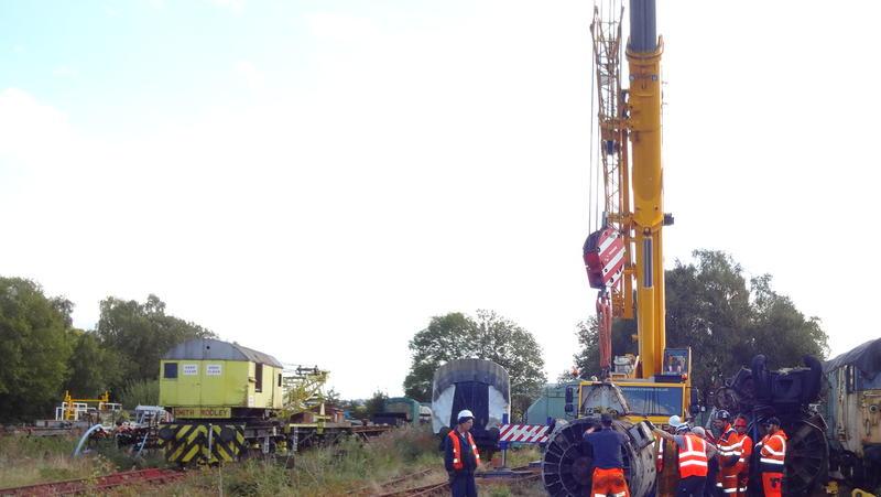 50030 Power Unit Lift, Peak Rail, Rowsley 290920 (163)