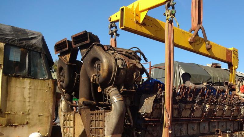 50030 Power Unit Lift, Peak Rail, Rowsley 290920 (103)