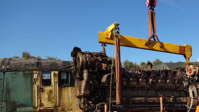 50030 Power Unit Lift, Peak Rail, Rowsley 290920 (92)