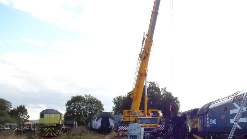50030 Power Unit Lift, Peak Rail, Rowsley 290920 (157)