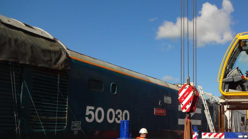 50030 Power Unit Lift, Peak Rail, Rowsley 290920 (121)