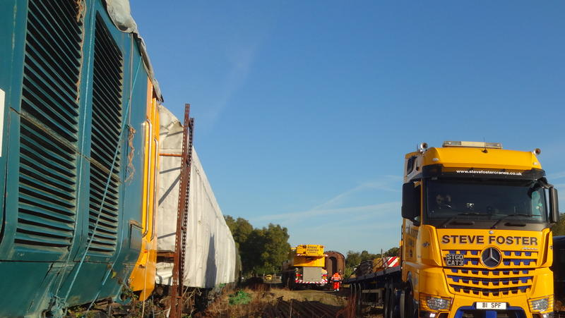 50030 Power Unit Lift, Peak Rail, Rowsley 290920 (26)