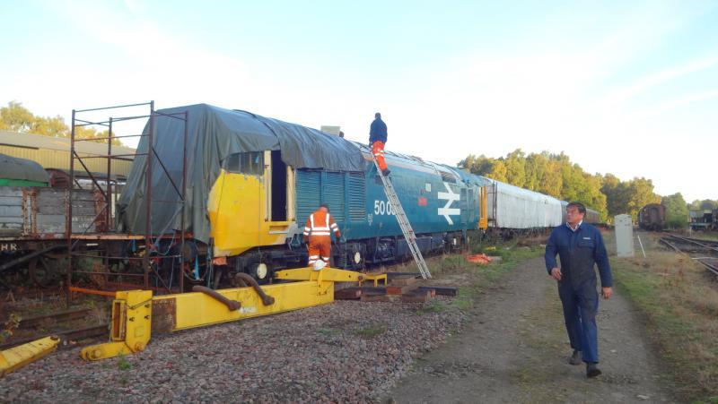 50030 Power Unit Lift, Peak Rail, Rowsley 290920 (12)