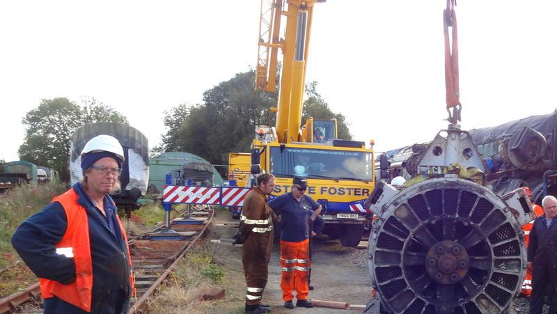 50030 Power Unit Lift, Peak Rail, Rowsley 290920 (164)