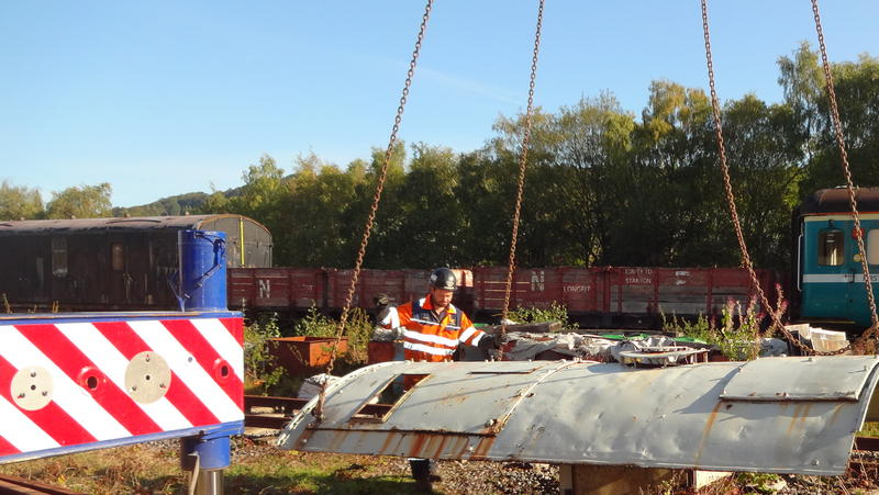 50030 Power Unit Lift, Peak Rail, Rowsley 290920 (52)