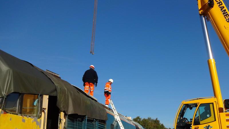 50030 Power Unit Lift, Peak Rail, Rowsley 290920 (48)