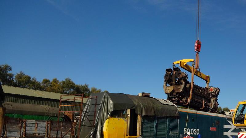 50030 Power Unit Lift, Peak Rail, Rowsley 290920 (83)