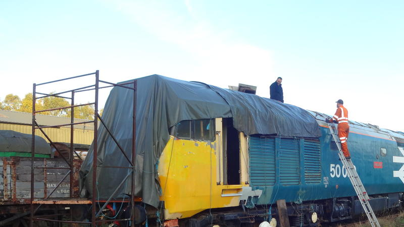 50030 Power Unit Lift, Peak Rail, Rowsley 290920 (16)