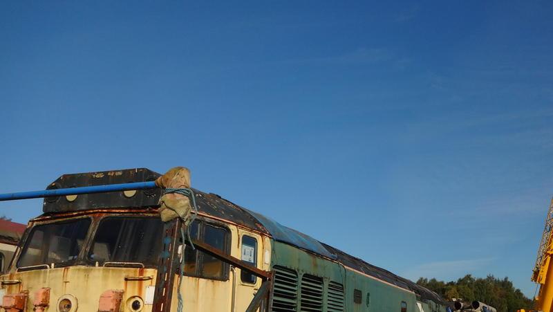 50030 Power Unit Lift, Peak Rail, Rowsley 290920 (44)