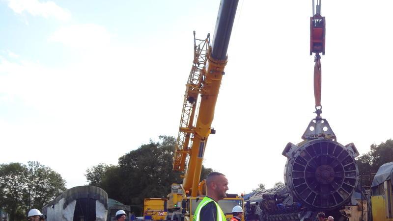 50030 Power Unit Lift, Peak Rail, Rowsley 290920 (168)