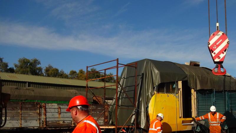 50030 Power Unit Lift, Peak Rail, Rowsley 290920 (62)