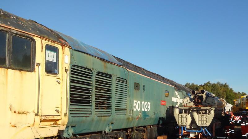 50030 Power Unit Lift, Peak Rail, Rowsley 290920 (31)