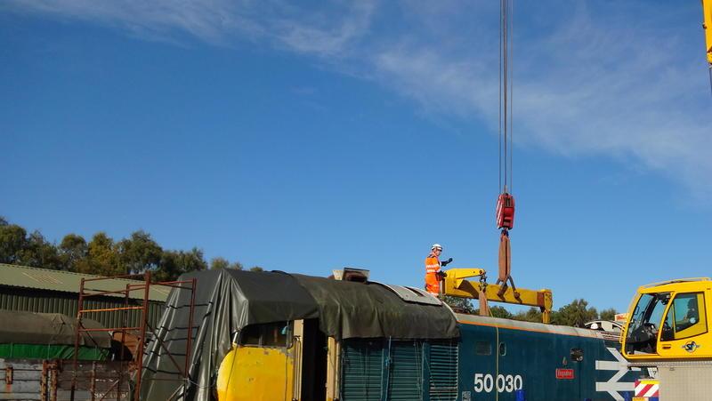 50030 Power Unit Lift, Peak Rail, Rowsley 290920 (76)