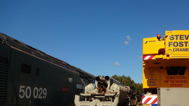 50030 Power Unit Lift, Peak Rail, Rowsley 290920 (131)