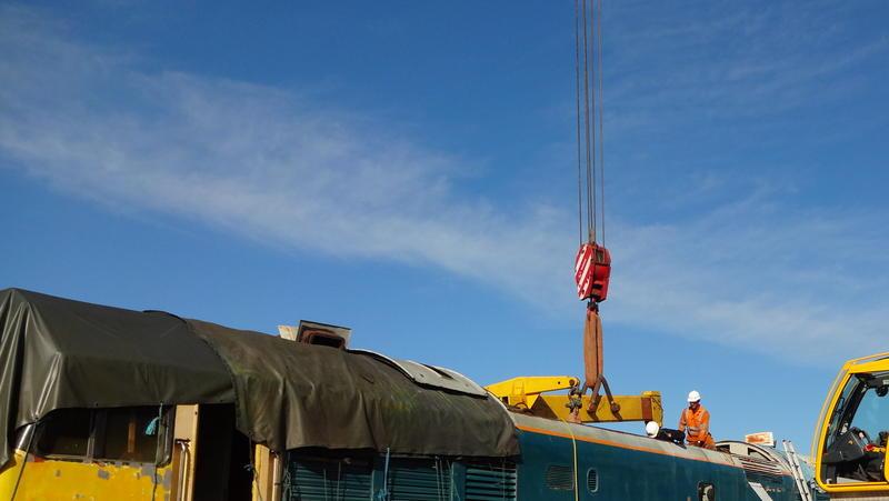 50030 Power Unit Lift, Peak Rail, Rowsley 290920 (72)