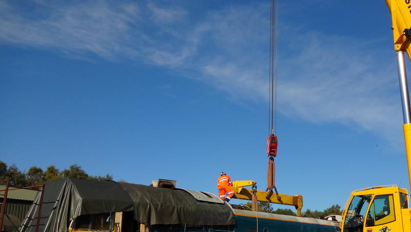 50030 Power Unit Lift, Peak Rail, Rowsley 290920 (74)