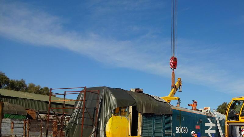 50030 Power Unit Lift, Peak Rail, Rowsley 290920 (69)