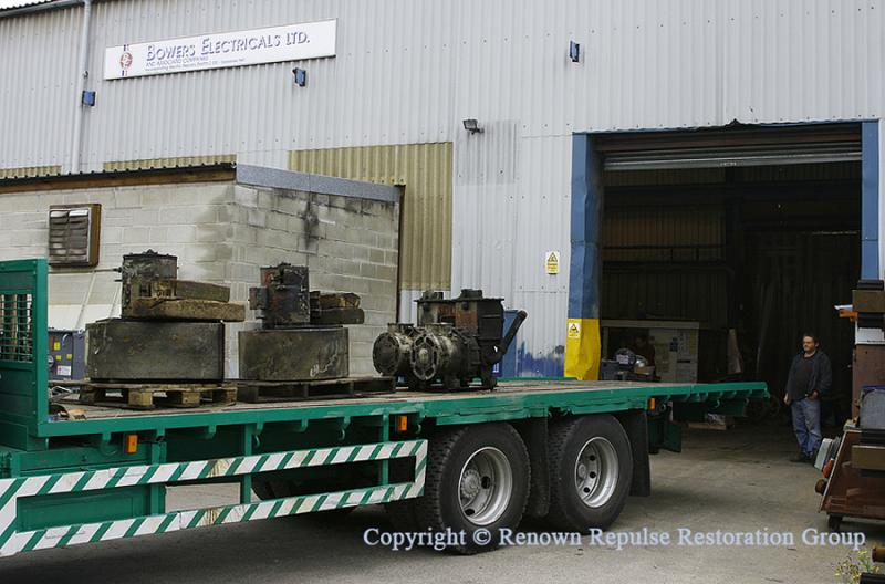 Motor blowers and exhausters arrive at Bowers
