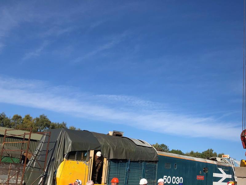 50030 Power Unit Lift, Peak Rail, Rowsley 290920 (59)