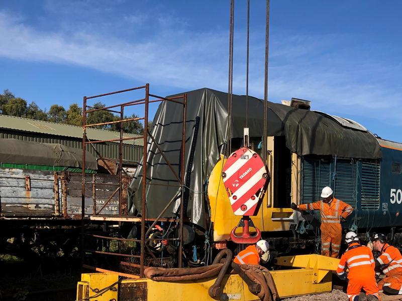 50030 Power Unit Lift, Peak Rail, Rowsley 290920 (64)