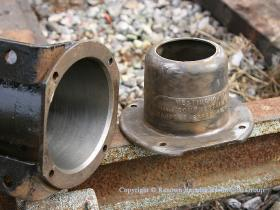 Brake cylinder and cap