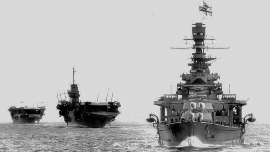 HMS Renown HMS Courageous HMS Furious 1934