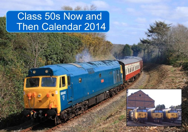 "2014 calendar ""Class 50 Now and Then"" still available!"